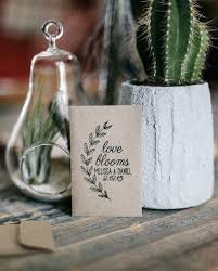 eco friendly wedding favors plantable tree and seed wedding favors for mywedding