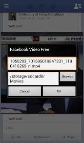 how to download any video from facebook onto your samsung galaxy