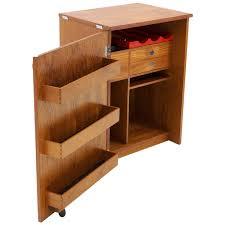 Portable Bar Cabinet Erik Buch Portable Bar Cabinet Or Bar Cart On Casters Teak All