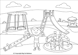 playground clipart sketch pencil and in color playground clipart