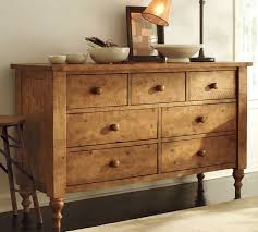 Rustic Bedroom Dressers - ashby extra wide dresser pottery barn