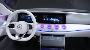cars mercedes benz mercedes benz concept car powered by nvidia drive at ces 2016
