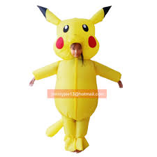 Pokemon Halloween Costumes Girls Pikachu Costume Picture Detailed Picture Inflatable