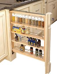 Cabinet Organizers Pull Out Cabinet Pull Out Filler With Adjustable Shelves Contemporary