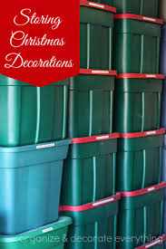 storing decorations organize and decorate everything