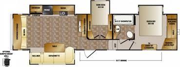crossroads cruiser fifth wheel floor plans new fifth wheel 2015 crossroads cruiser 345bh two bedroom bunk