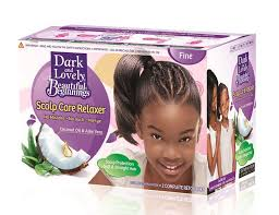 hair relaxer for asian hair dark lovely scalp care relaxer thin hair with coconut oil