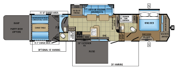 Turbo Floor Plan 2017 Seismic 4212 Jayco Inc