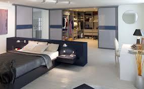 idee chambre parentale avec salle de bain amenagement chambre parentale avec salle bain opter pour le lit