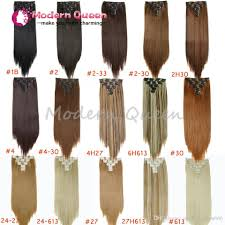 Make Clip In Hair Extensions by Synthetic Hair With Clips 22 Clip In Hair Extensions False Hair