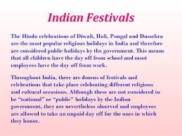 indian cultural diversity festivals