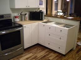 modern corner kitchen concrete countertops corner kitchen sink cabinet lighting flooring