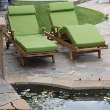 Outdoor Chaise Lounges Sunbrella Chaise Lounge Cushion