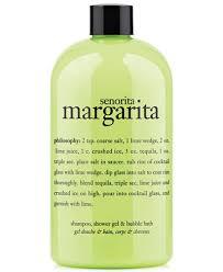 philosophy bath and shower gel philosophy senorita margarita ultra rich 3 in 1 shoo shower