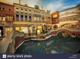 Venetian Las Vegas Map by Replica Grand Canal Inside Venetian Stock Photos U0026 Replica Grand