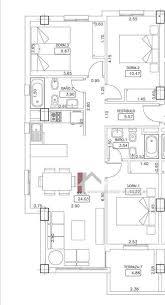 plan appartement 3 chambres dehesa de coamor appartement 3 chambres immobilier espagne