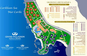 Jamaica Map Grand Palladium Lady Hamilton Resort U0026 Spa Lucea Transat