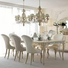 luxurious designer rectangle italian 8 seat dining table set