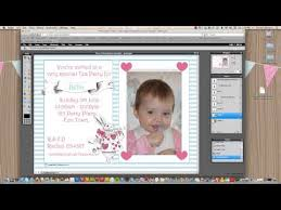 how to make your own photo invitations