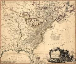 1783 Map Of The United States by Doc Butler U0027s U S History Website For Students Maps