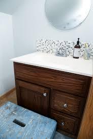 Bathroom Tile How To Install Tile Backsplash In Bathroom Design