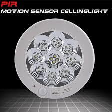 Motion Sensing Ceiling Light Sensky 220v Ac 7w Pir Motion Sensor Led Ceiling Light L White