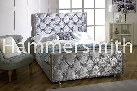 Chesterfield Sleigh Bed Brown Sleigh Beds Zeppy Io