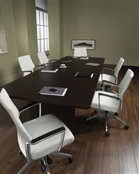 Large White Meeting Table Professional Conference Room Tables At Discount Prices