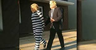 Outrageous Halloween Costumes Trump Arrests Crooked Hillary Outrageous Halloween Costume