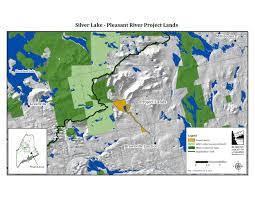 lake pleasant map silver lake pleasant river