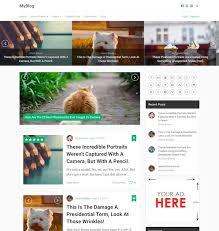 best blog themes ever 40 best premium blog wordpress themes 2018