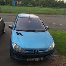 sale peugeot for sale peugeot 206 51 plate 1 6 petrol 650 ono in