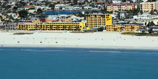 Map Of Clearwater Beach Treasure Island Florida Hotel Bilmar Beach Resort On Treasure Island