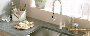 mirabelle kitchen faucets teo bathroom kitchen accessories enterprise outdoor decor