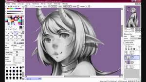 grayscale painting youtube