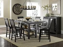 Casual Dining Room Tables by Progressive Furniture Willow Dining 5 Piece Round Counter Height