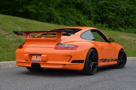 orange porsche 911 gt3 rs 2007 porsche 911 997 1 gt3 rs in orange hunting ridge motors
