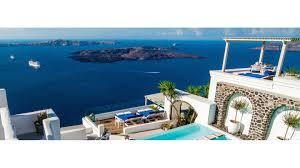 iconic santorini hotel imerovigli santorini smith hotels