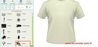 edit desain kaos online membuat desain kaos online sendiri kusnendar