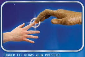 E T The Extra Terrestrial LED Light Up Hand Prop Replica
