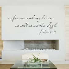 bible wall todosobreelamor info bible wall scripture wall decal as for me and my house bible verse decal quote 16