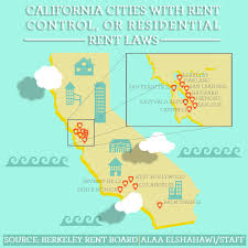 Rent Control Los Angeles Map by The Daily Californian U2014 Alaa Elshahawi
