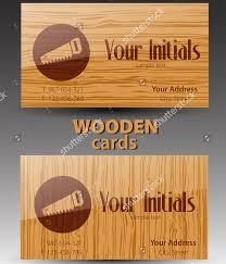 20 wooden business card designs free premium templates