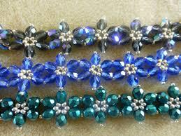make bead flower bracelet images Suzieq 39 s dab hands how to make a beaded flower bracelet JPG