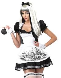 gothic halloween costumes dark alice in wonderland evil princess womens fancy halloween