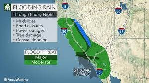 United States Storm Map by Biggest Storm Of Winter U0027 To Unleash Flooding Rain In California