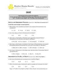 Bill Of Rights Worksheet Answers Printables Bill Of Rights Matching Worksheet Whelper Worksheets