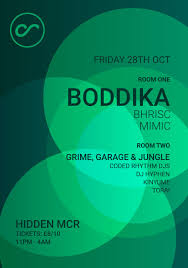 ra coded rhythm halloween with boddika at hidden manchester 2016