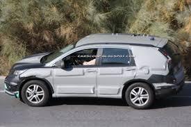 New Honda Crv Diesel Scoop All New 2012 Honda Cr V Shows Its Face In Europe