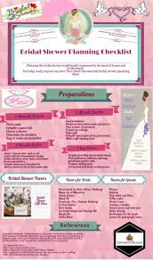 bridal shower planner bridal shower planning checklist visual ly